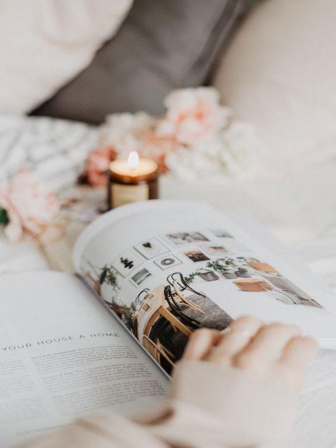 magazine de design interieur, bougie, lagom art de vivre, bien etre, cocooning