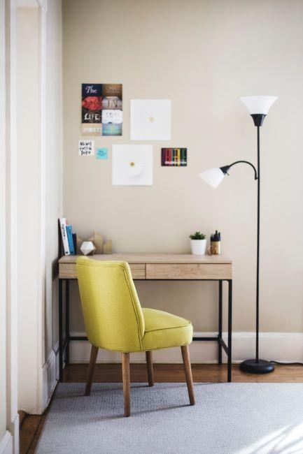 espace bureau à la maison