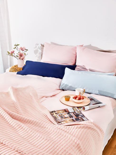 Draps de lit pastel