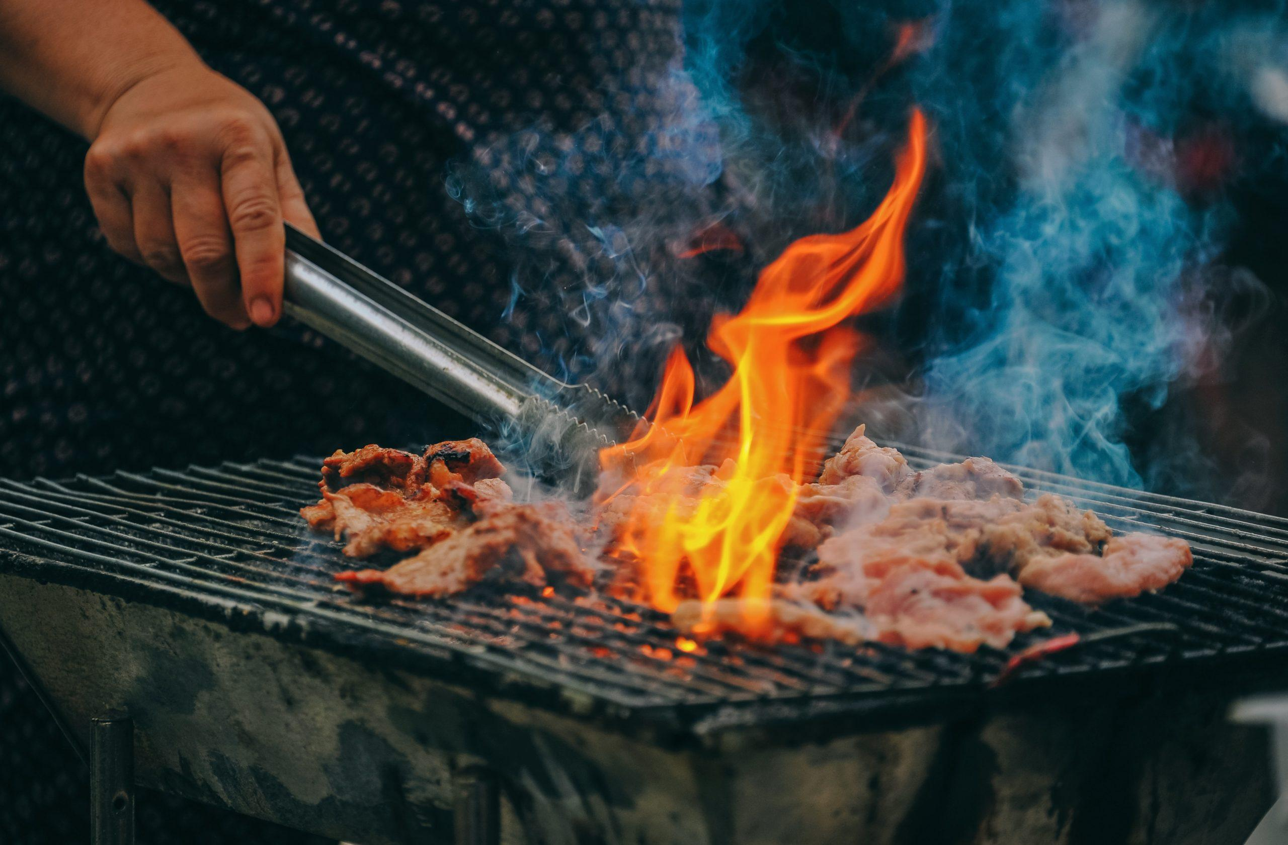 barbecue met vlees cadeau vaderdag