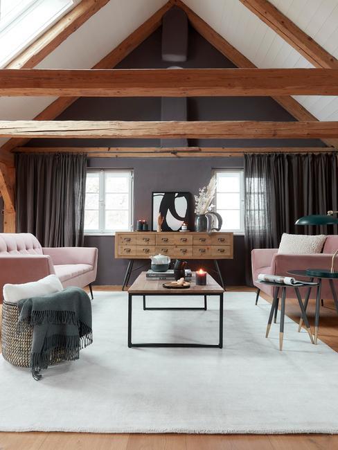 Loft met dutchbone meubels