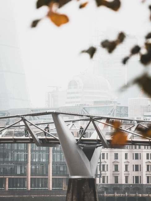 Millenium Bridge w Londynie