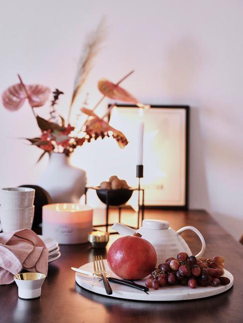 Jesienna dekoracja w pokoju
