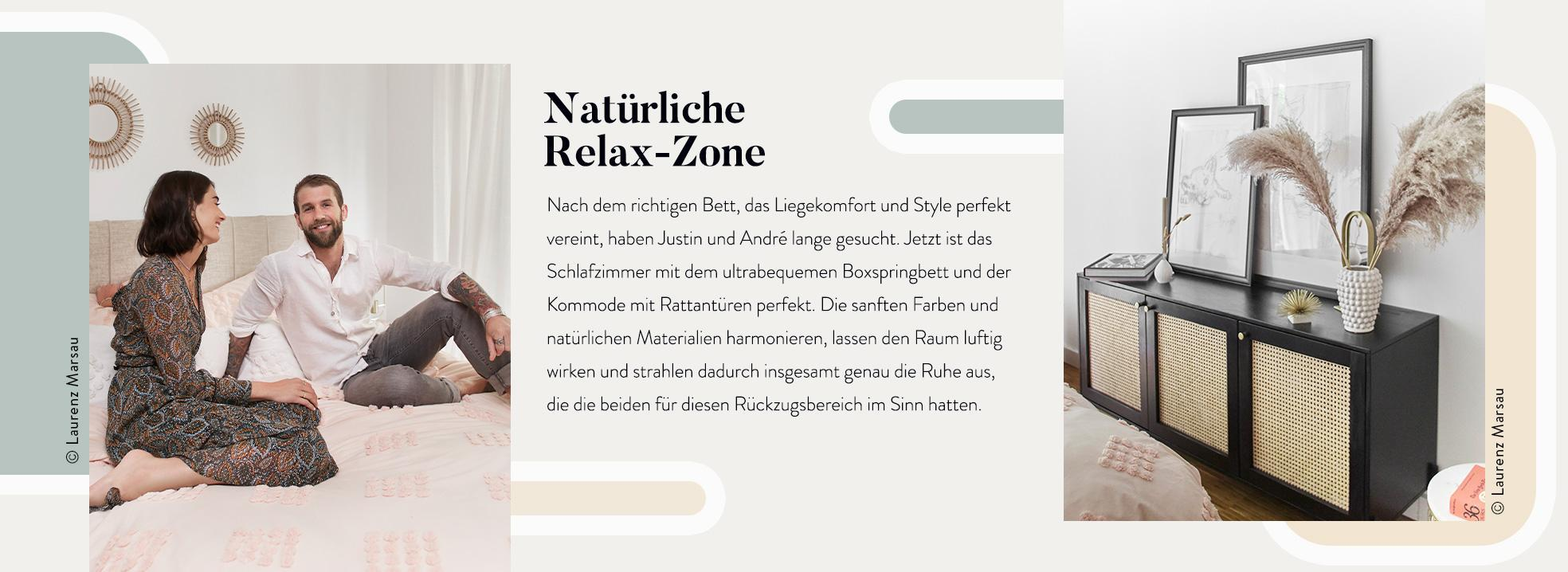 André Hamann Schlafzimmer Bilder Bett Sideboard