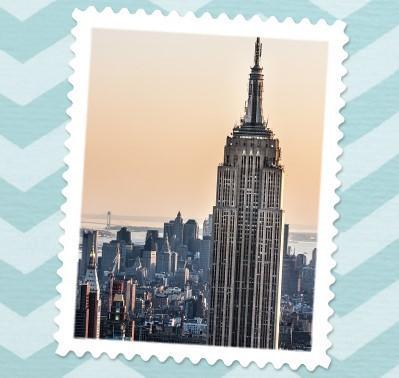 Bekanntes Gebäude in New York City
