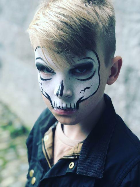 maquillage halloween enfant