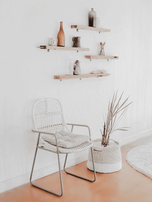 Dettaglio salotto minimal