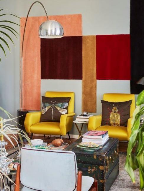 stile eclettico soggiorno