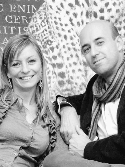 Emanuela e Fabio di Cafelab