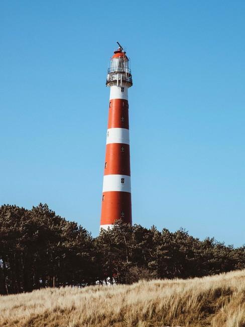 Natuurgebieden Nederland vuurtoren vlieland