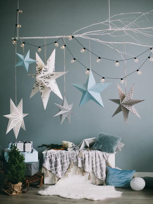 Dekoracje turkusowe na Boże Narodzenie