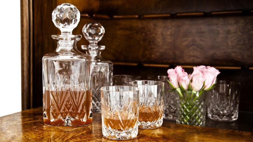 Křišťálové sklenice