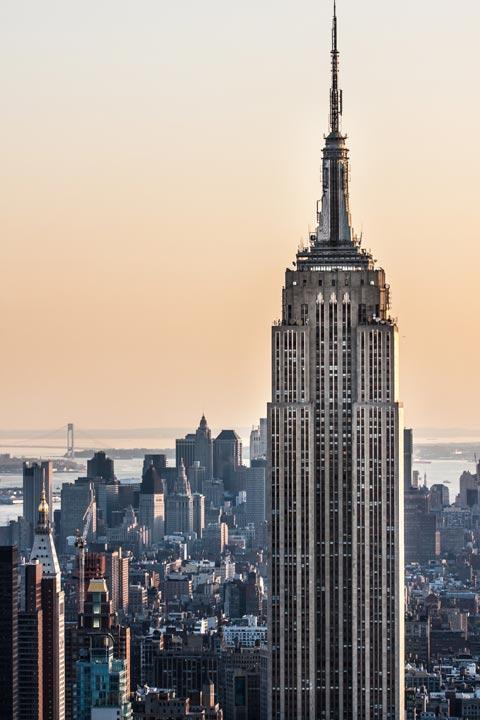 Die berühmtesten Gebäude in New York