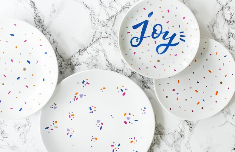DIY: Malované nádobí
