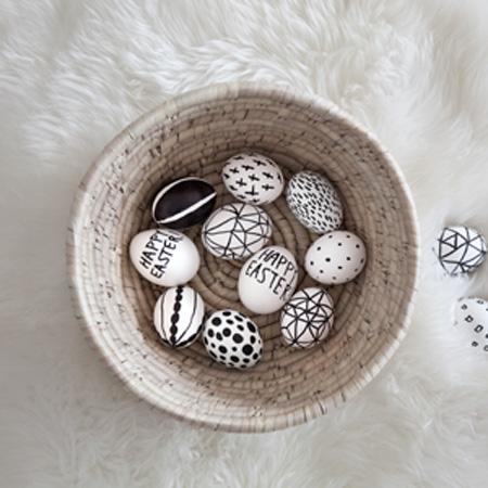DIY: huevos de Pascua de lo más trendy