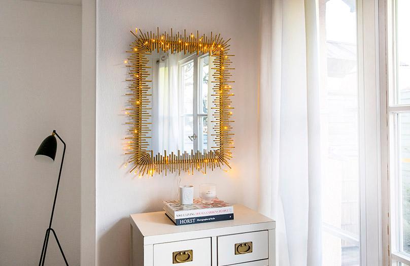 Come utilizzare le luci natalizie tutto l'anno
