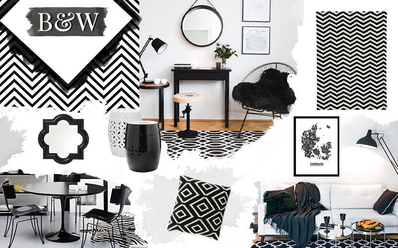 Monocromo, Interior-design, Trend, Colori, Moda, Design