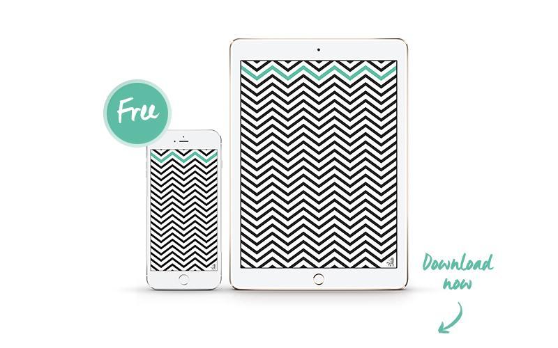 Monocromo, Interior-design, Trend, Colori, iPhone, iPad, Wallpaper, Zig-zag
