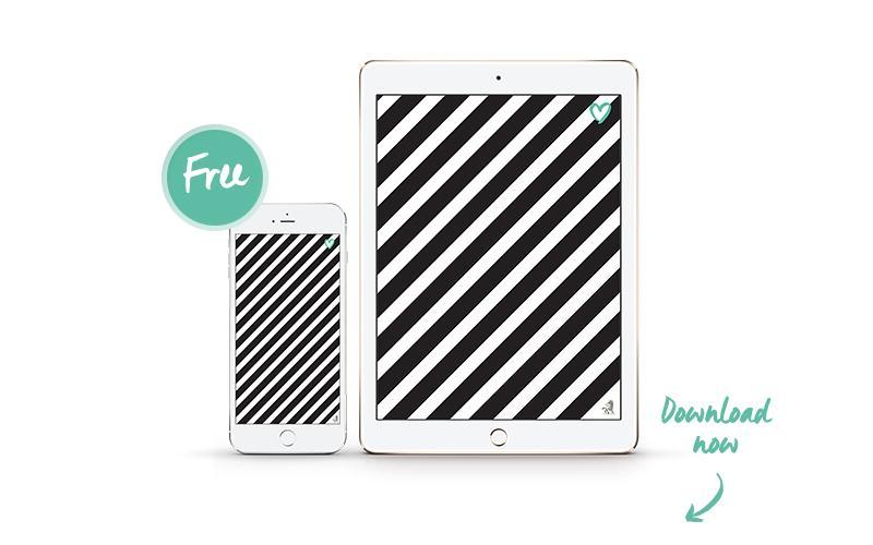 Monocromo, Interior-design, Trend, Colori, iPhone, iPad, Wallpaper, Strisce