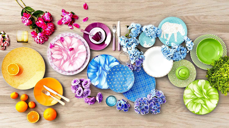 Rose & tulipani, Estate, Decorazioni, Mise en place, Colori, Trend