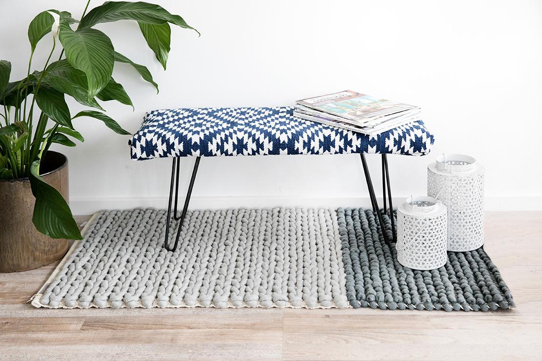 panca fai da te tappeto kilim