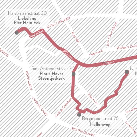 Dutch Design Week route van Ontwerpduo