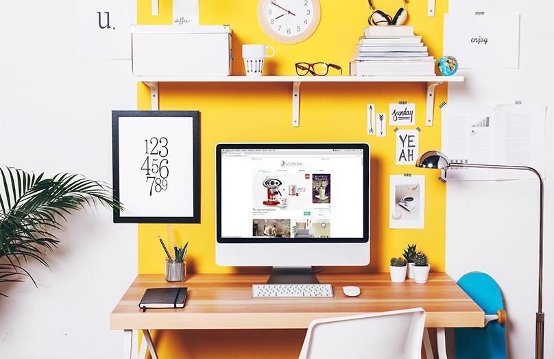 Back to work: 7 tips voor een stylish werkplek