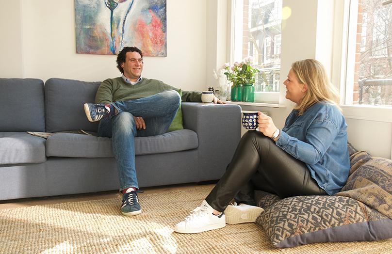 Binnenkijken bij Paul & Anne in Amsterdam