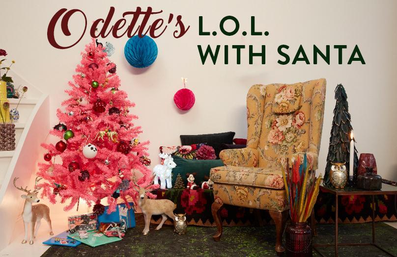 L.O.L. with Santa