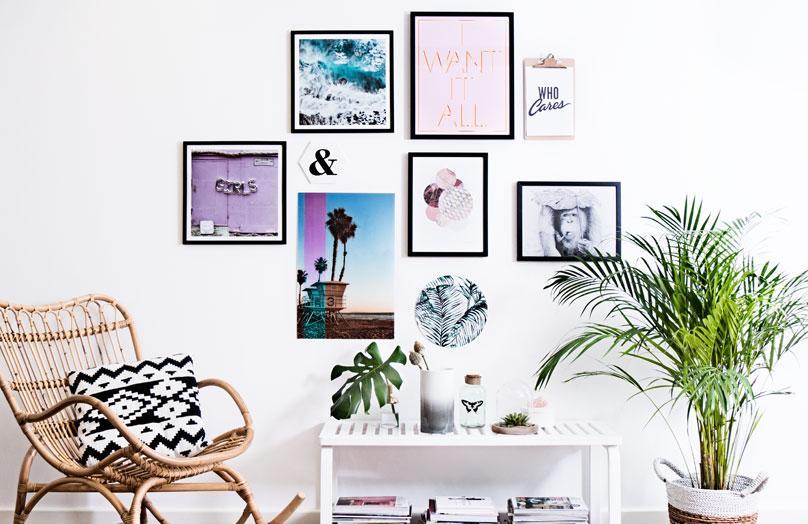 DIY: Jak zawiesić zdjęcia na ścianie