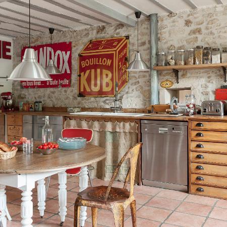 5 sposobów na kuchnię retro