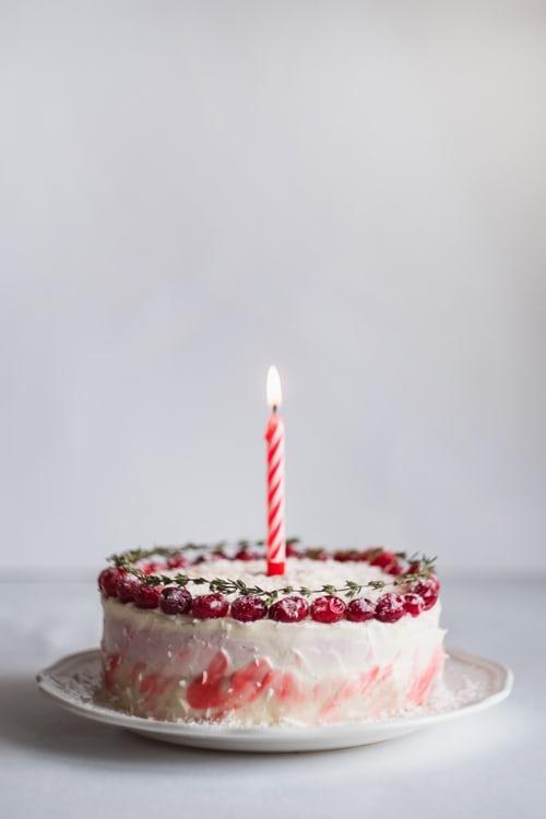 Torta di primo compleanno fatta in casa
