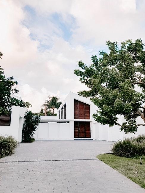 esterno di casa moderna