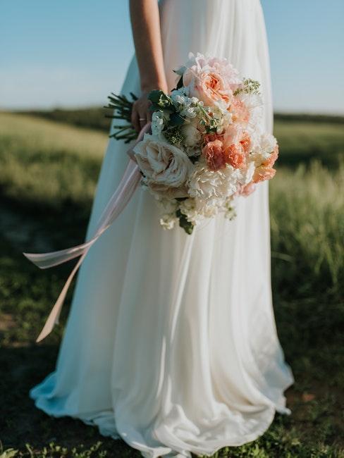 matrimonio country chic bouquet