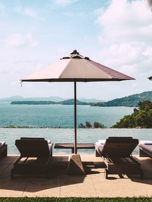 Vista sul mare delle Andamane