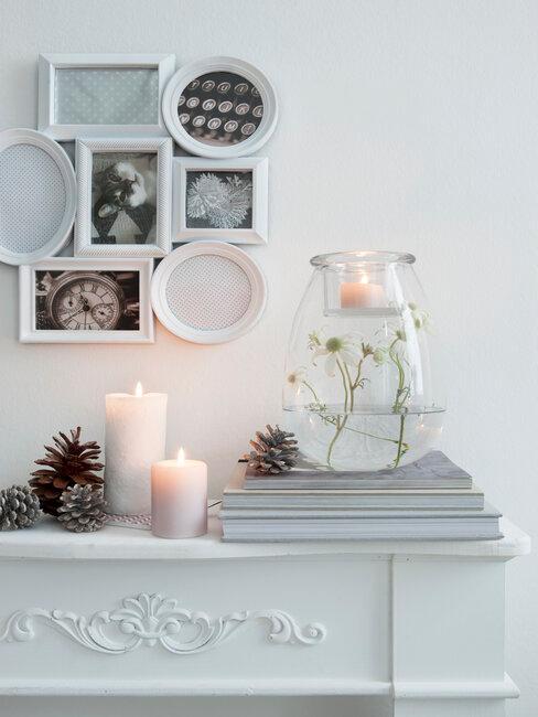Svíčky do obýváku ve skandinávském stylu