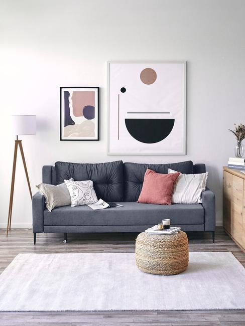 Obývací pokoj ve skandinávském stylu 99