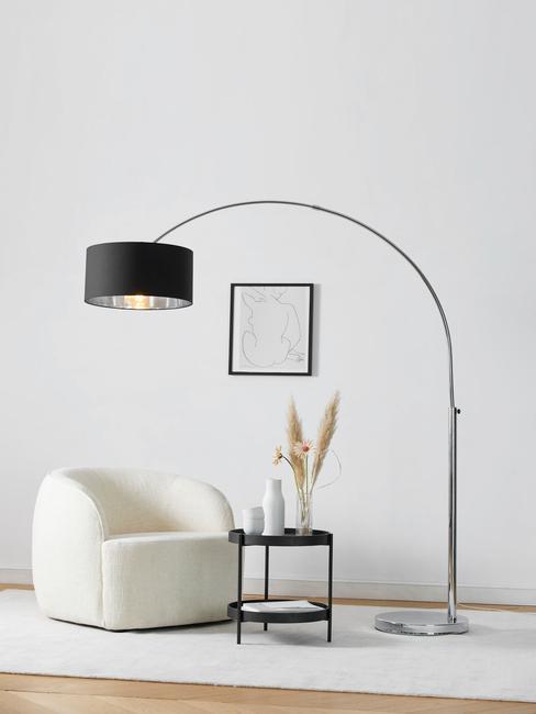 Lampy v obýváku ve skandinávském stylu 2
