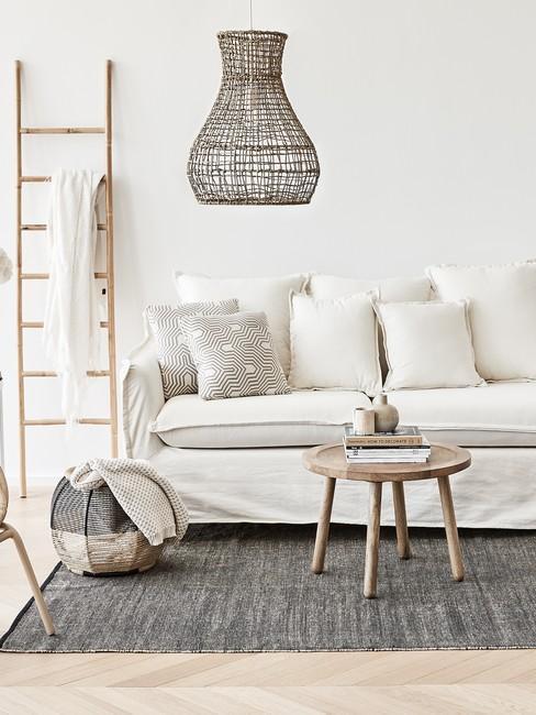 Bezova barva v obývaku