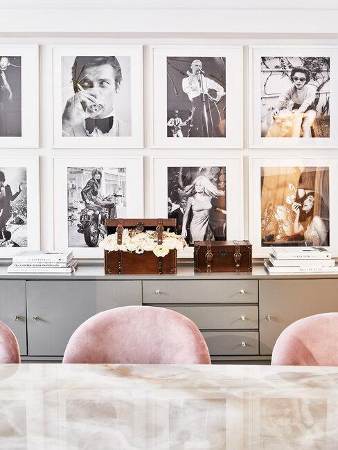 Portrety do obývacího pokoje