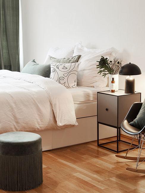 moderní ložnice v paneláku