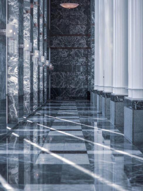 mramorová moderní podlaha