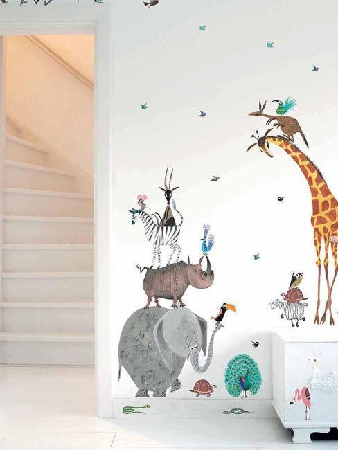 Jak vybrat tapety do dětského pokoje