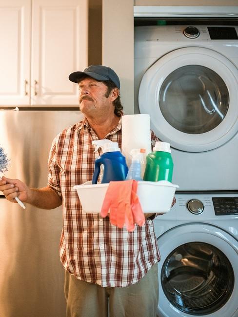 Jak vyčistit pračku 1