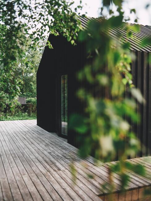 dům s moderní zahradou