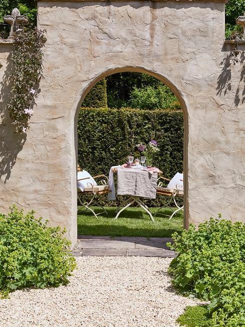 Francouzská zahrada inspirace 1