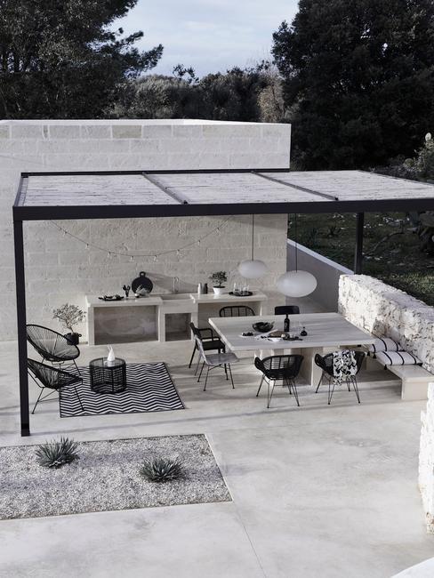 zahradní altán - moderní