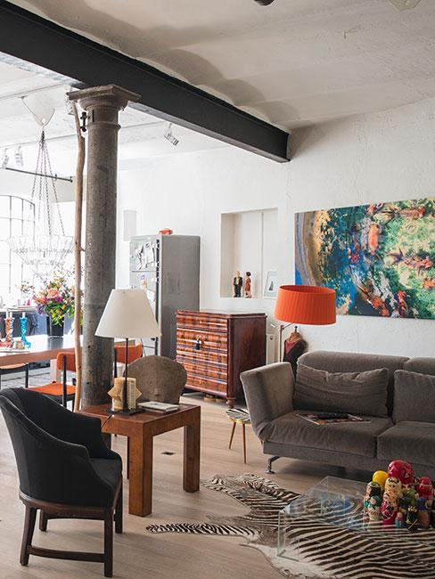 vintage obývák