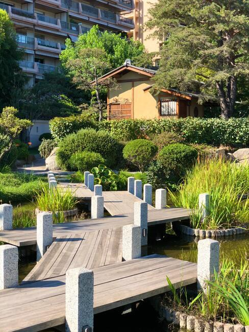 japonská - Venkovní terasy