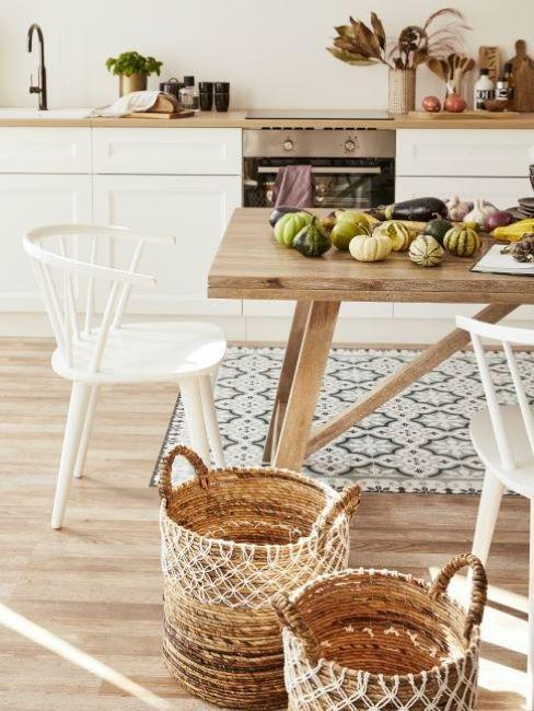 Jak vybrat koberec do kuchyně inspirace
